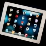 iPad 2 interface, circa 2011