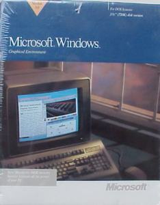 Windows 3.0 Retail Box, circa 1990